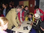 AUTOGRAPH TIME IN THE TOWN OF 'BITCH' FRANCE -