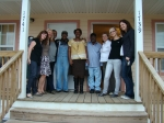Visit from Notting Hill Housing in the UK to see Musicians' Village. Wonderful to meet Freddie!