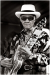 Little Freddie King at 2011 French Quarter Music Festival. (Photo by Micahel Kurgansky)