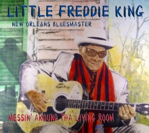 I had the privilege of meeting this amazing Mr. Little Freddie King and listening to him and his band. ..incredible! Tha